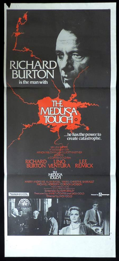 THE MEDUSA TOUCH Original Daybill Movie Poster 1980 Robert Forster Horror