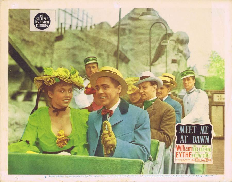 MEET ME AT DAWN Lobby Card 5 William Eythe Hazel Court