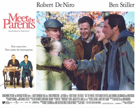 MEET THE PARENTS Lobby Card 1 Ben Stiller Robert DeNiro