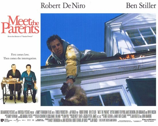 MEET THE PARENTS Lobby Card 3 Ben Stiller Robert DeNiro