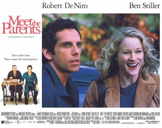 MEET THE PARENTS Lobby Card 4 Ben Stiller Robert DeNiro