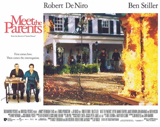MEET THE PARENTS Lobby Card 5 Ben Stiller Robert DeNiro