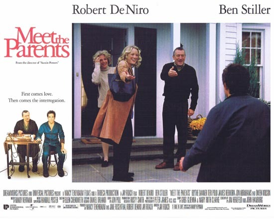 MEET THE PARENTS Lobby Card 6 Ben Stiller Robert DeNiro
