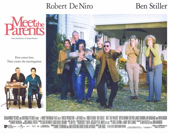 MEET THE PARENTS Lobby Card 7 Ben Stiller Robert DeNiro