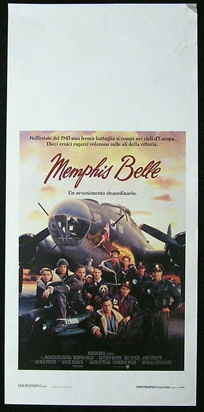 MEMPHIS BELLE Italian Locandina Movie Poster Matthew Modine Eric Stottz