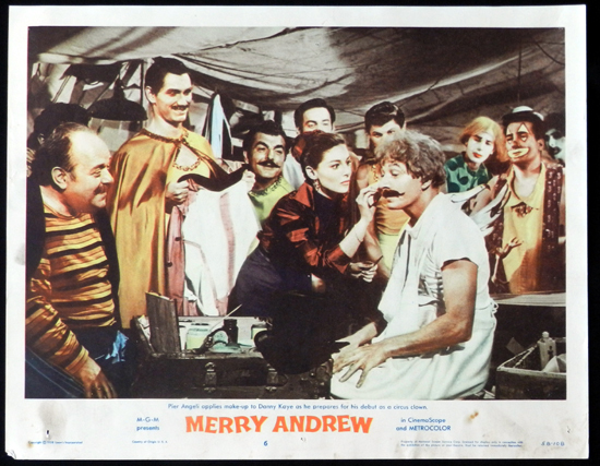 MERRY ANDREW 1958 Danny Kaye CIRCUS Lobby Card 6