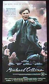 MICHAEL COLLINS '96 Australian Daybill Movie poster Liam Neeson Julia Roberts