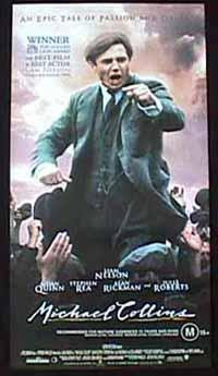 MICHAEL COLLINS Australian Daybill Movie poster Liam Neeson Julia Roberts