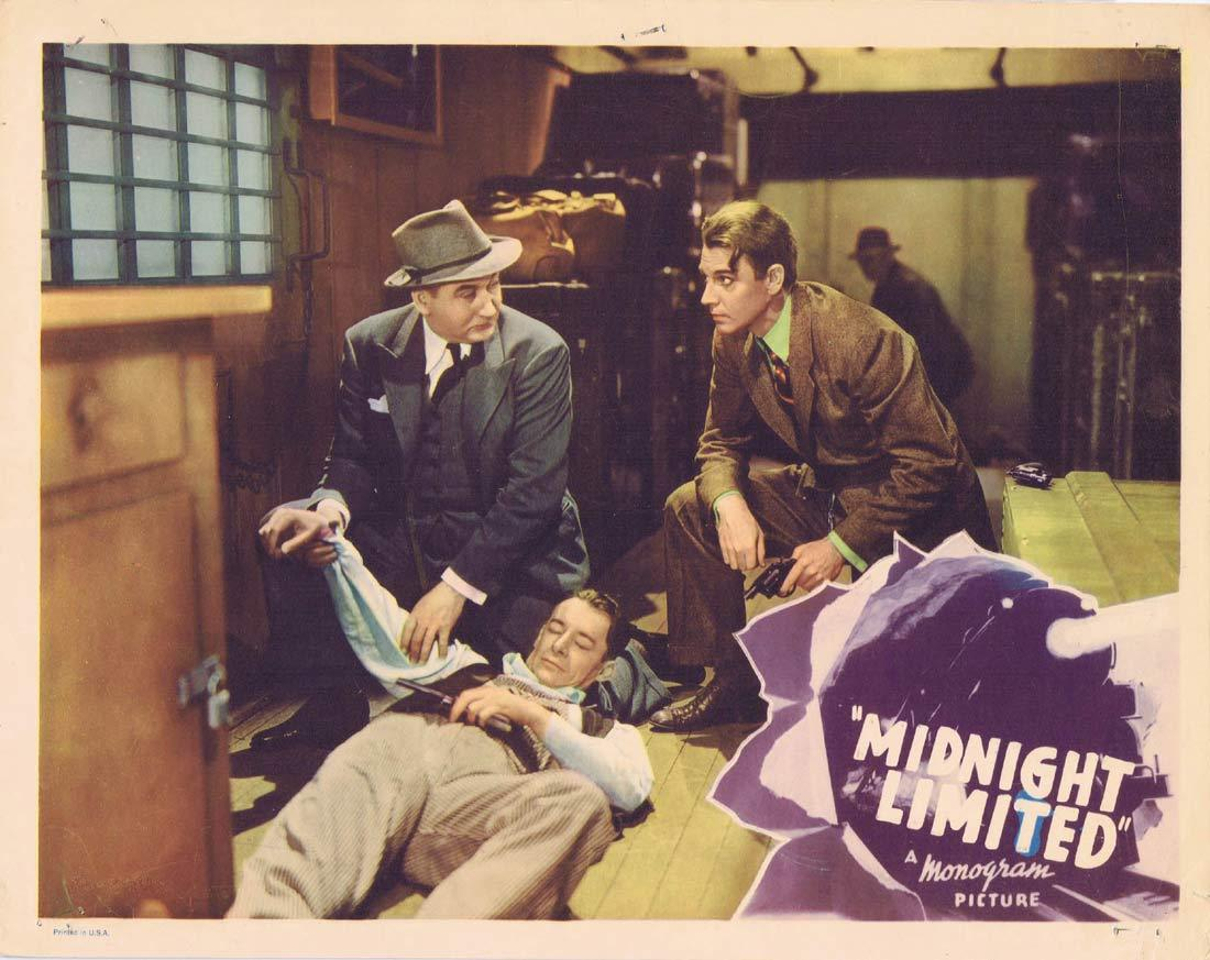 MIDNIGHT LIMITED Original Lobby Card John 'Dusty' King Marjorie Reynolds 1940 Phantom Robber