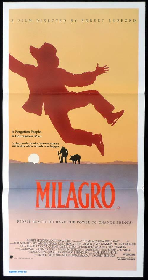 MILAGRO Original Daybill Movie Poster Rubén Blades Robert Redford