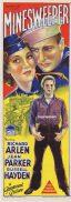 MINESWEEPER Original Daybill Movie Poster Richard Arlen Jean Parker
