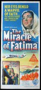 THE MIRACLE OF FATIMA Original Daybill Movie Poster Gilbert Roland