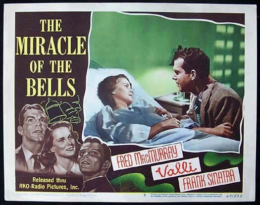 MIRACLE OF THE BELLS Movie poster FRED MACMURRAY RKO Rare Lobby Card