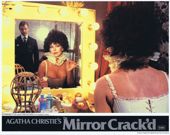 THE MIRROR CRACK'D Original Lobby Card 1 Joan Collins Elizabeth Taylor