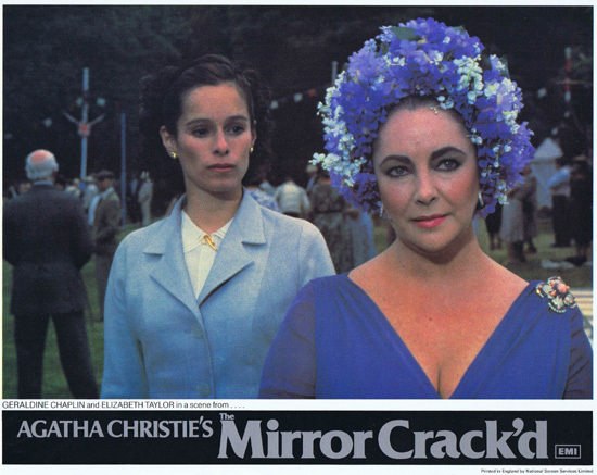 THE MIRROR CRACK'D Original Lobby Card 5 Joan Collins Elizabeth Taylor