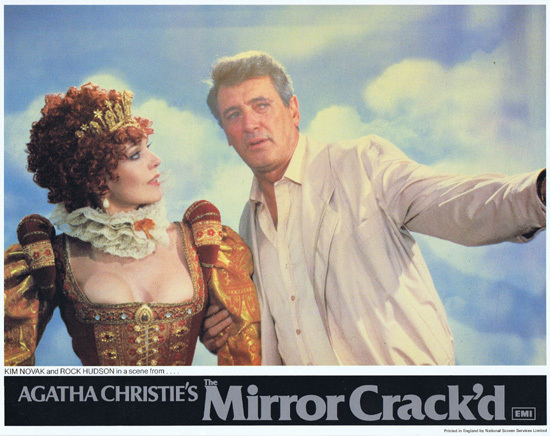 THE MIRROR CRACK'D Original Lobby Card 8 Joan Collins Elizabeth Taylor