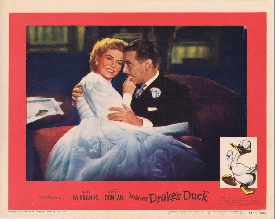 MISTER DRAKE'S DUCK Lobby Card Douglas Fairbanks