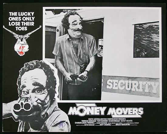 MONEY MOVERS 1978 Bruce Beresford RARE Lobby Card 1