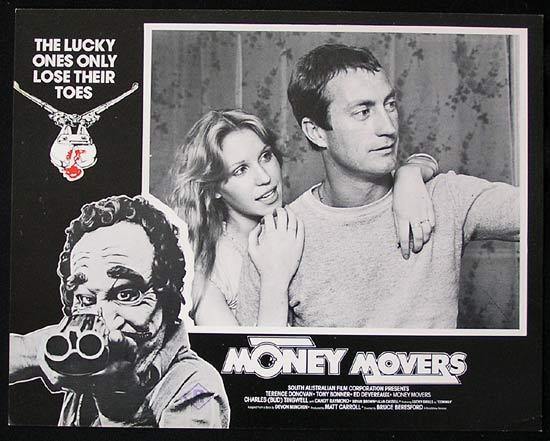 MONEY MOVERS 1978 Bruce Beresford RARE Lobby Card 4