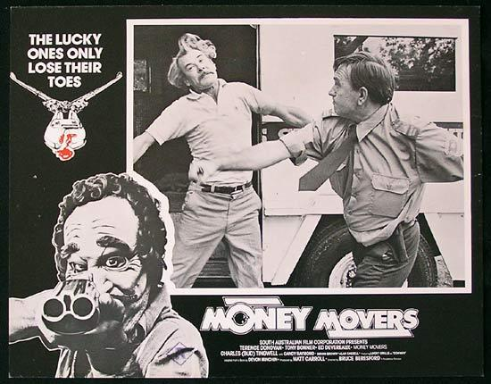 MONEY MOVERS 1978 Bruce Beresford RARE Lobby Card 5