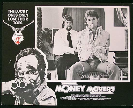 MONEY MOVERS 1978 Bruce Beresford RARE Lobby Card 6