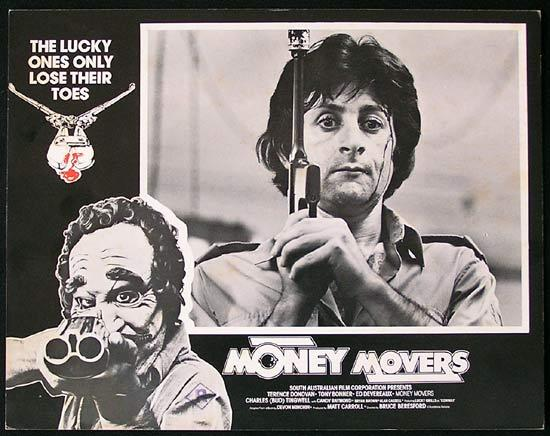 MONEY MOVERS 1978 Bruce Beresford RARE Lobby Card 8