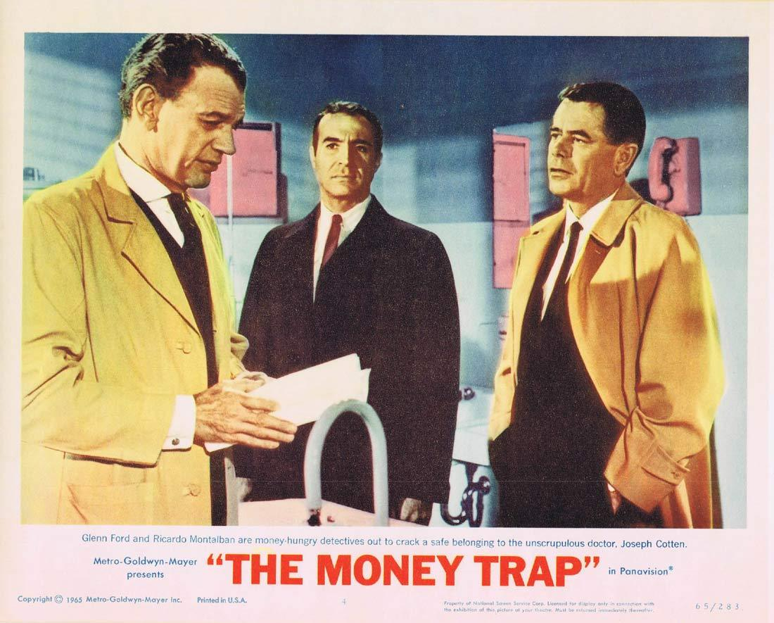 THE MONEY TRAP Lobby card 1 Glenn Ford Elke Sommer