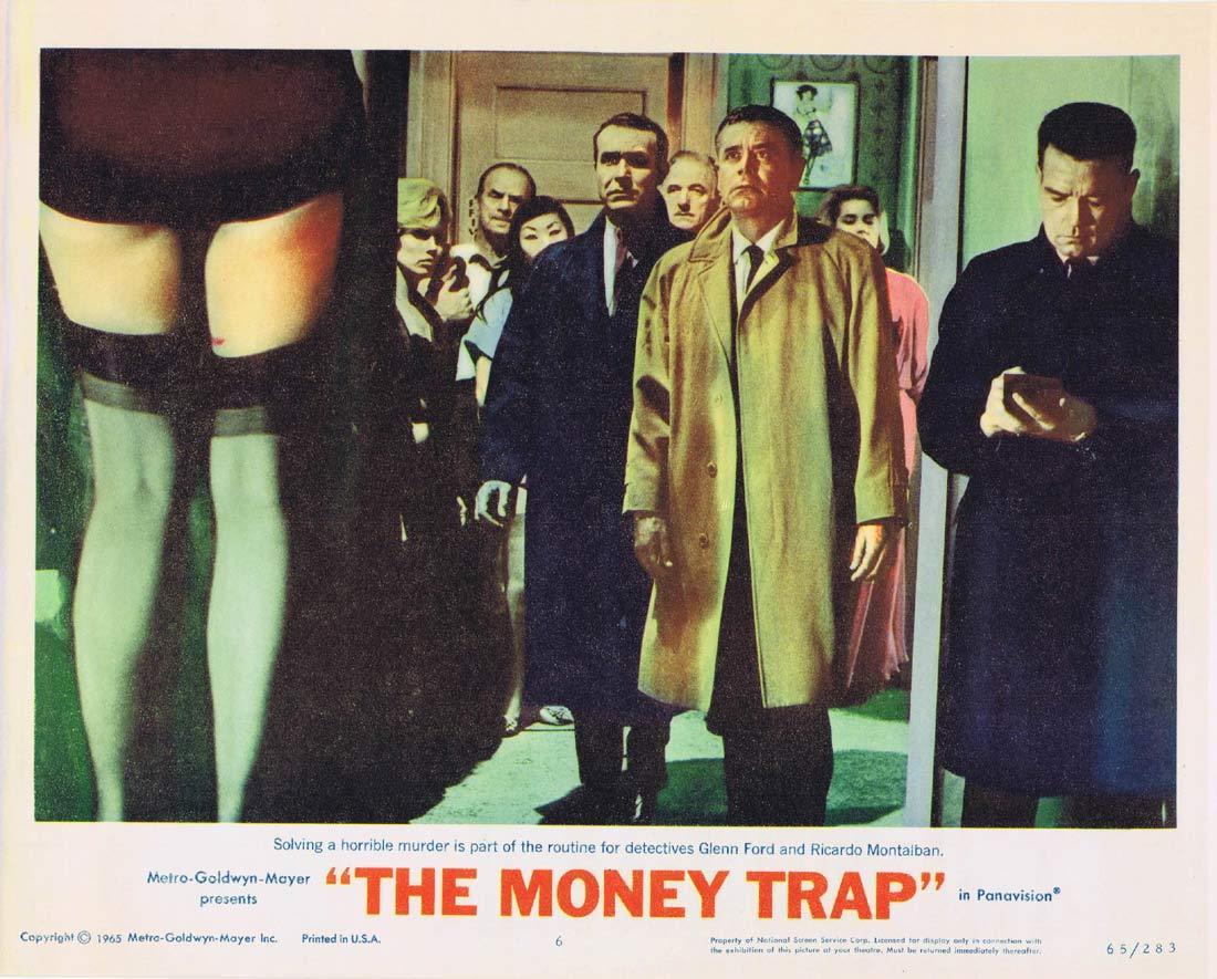 THE MONEY TRAP Lobby card 6 Glenn Ford Elke Sommer