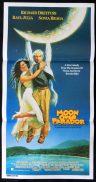 MOON OVER PARADOR Richard Dreyfuss Australian Daybill Movie poster