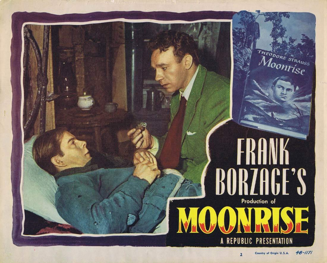 MOONRISE Lobby Card 2 Dane Clark Gail Russell Ethel Barrymore