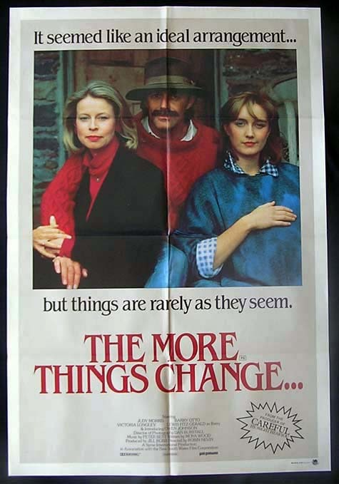 THE MORE THINGS CHANGE 1986 Judy Morris Australian One sheet Movie poster