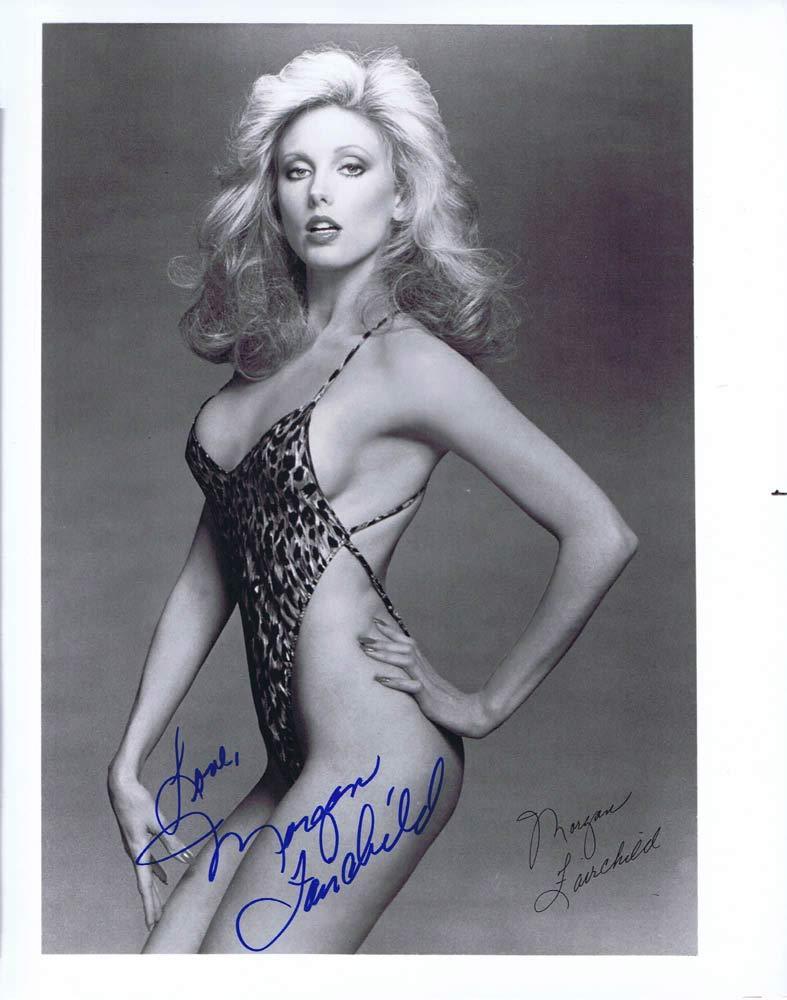 MORGAN FAIRCHILD Autograph 8 x 10 Photo Sexy Swimsuit