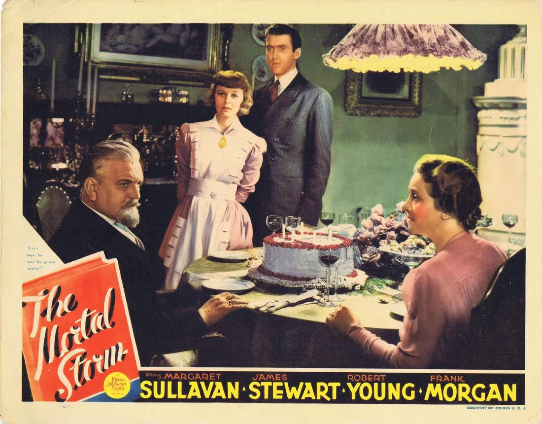 THE MORTAL STORM Vintage Lobby Card Margaret Sullavan James Stewart Robert Young