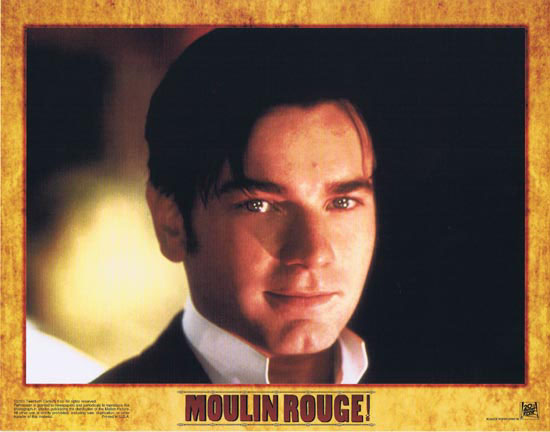 MOULIN ROUGE Original Lobby card 4 Nicole Kidman Ewan McGregor