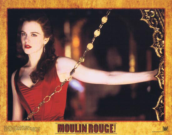 MOULIN ROUGE Original Lobby card 5 Nicole Kidman Ewan McGregor