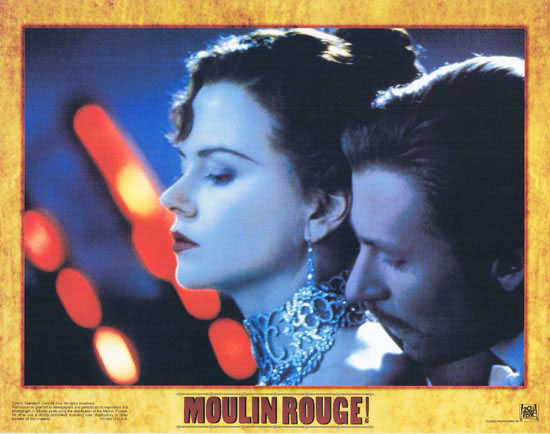 MOULIN ROUGE Original Lobby card 7 Nicole Kidman Ewan McGregor