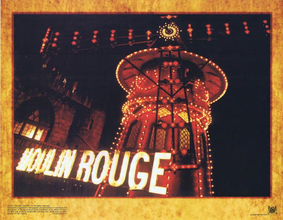 MOULIN ROUGE Original Lobby card 8 Nicole Kidman Ewan McGregor