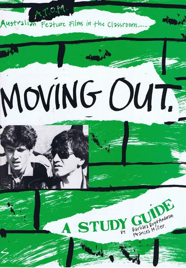 MOVING OUT Original Australian Movie Study Guide Vince Colosimo Maurice Devincentis