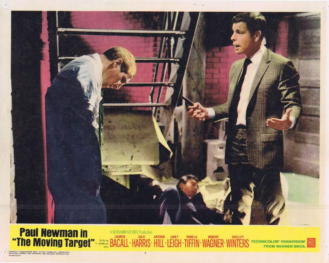 THE MOVING TARGET Lobby card 4 Robert Wagner