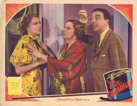 MR CINDERELLA 1936 Lobby Card Jack Haley