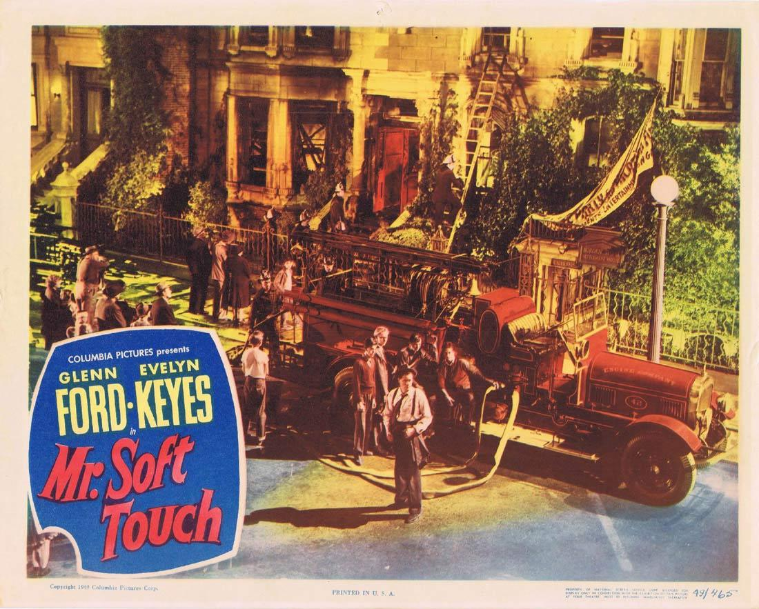 MR SOFT TOUCH 1949 Glenn Ford NOIR Lobby Card 5