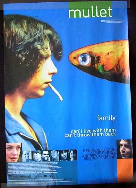 MULLET Ben Mendlesohn Movie Poster Australian One sheet