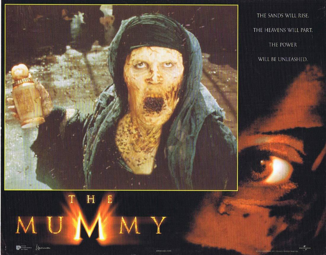 THE MUMMY Original Lobby Card 3 Brendan Fraser Rachel Weisz