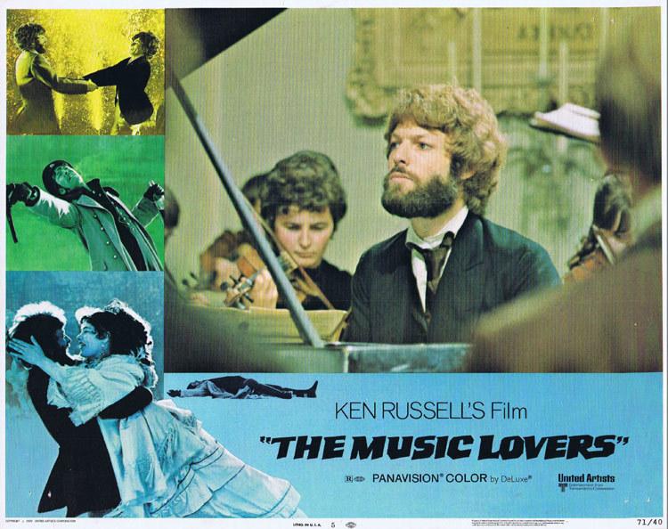 THE MUSIC LOVERS Lobby Card 5 Richard Chamberlain