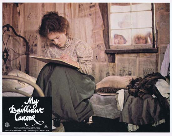 MY BRILLIANT CAREER 1979 Lobby Card 4 Sam Neill Judy Davis Wendy Hughes
