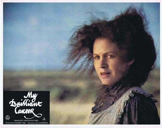 MY BRILLIANT CAREER 1979 Lobby Card 7 Sam Neill Judy Davis Wendy Hughes