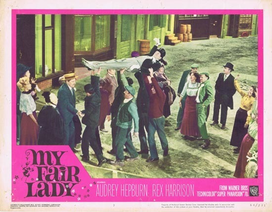 MY FAIR LADY 1964 Audrey Hepburn Lobby Card 6