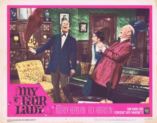 MY FAIR LADY 1964 Audrey Hepburn Lobby Card 8
