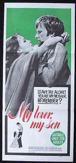 MY LOVER MY SON Original Daybill Movie Poster Romy Schneider Dennis Waterman