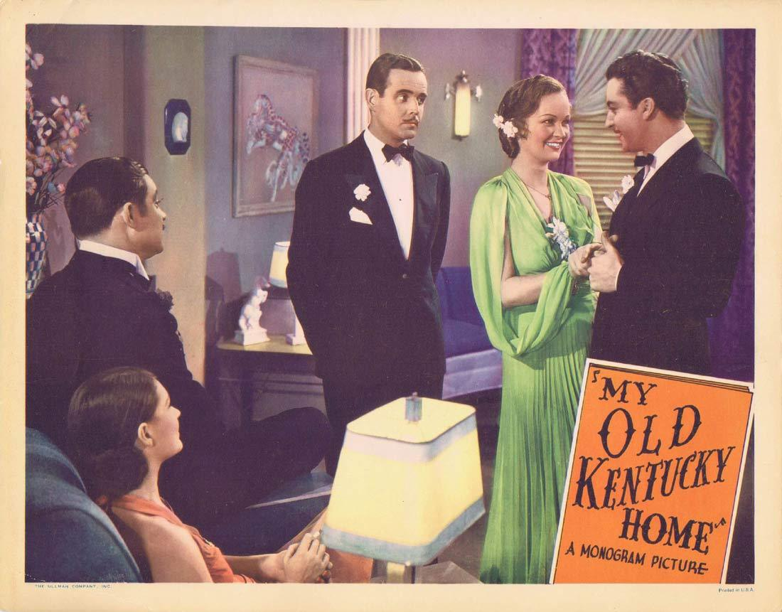 MY OLD KENTUCKY HOME Original Lobby Card Evelyn Venable Grant Richards Clara Blandick 1938